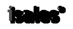isales Logo Schwarz Weiß
